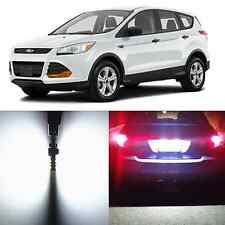 Alla Lighting License Plate Light 168 2825 Super White LED Bulbs for Ford Escape