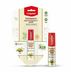 Colgate Vedshakti Mouth Protect Spray 10g 10 grams 100+ sprays instant germ kill