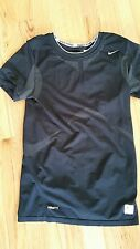 Nike Pro Fitted Athletic Top Black Sz L