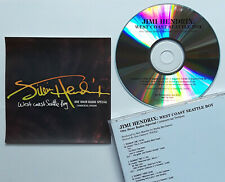 RARE PROMO Jimi Hendrix West Coast Seattle Boy OneHour Radio Special NEW CD Show
