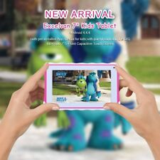 """7"""" Child 3G Wifi Tablet Pc Android 4.4 8gb Dual Camera BT Kids Pad Xmas Gift uk"""