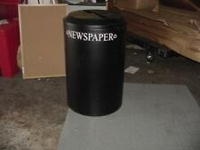 United Receptacle Drr24Ptbk Round Recycling Container 158353
