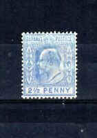 Bahamas 1907 2 1/2d ultramarine MH