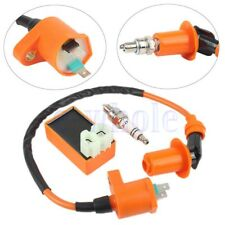 Racing Ignition Coil Spark Plug CDI For Gy6 Scooter ATV TaoTao 50cc 150cc New HM