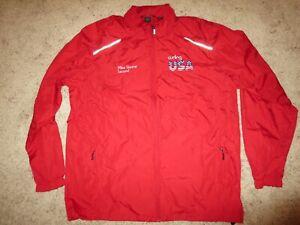USA Curling Team Olympics Jacket XL mens