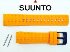 Suunto watch band Fits all Elementum Aqua Terra  Ventus Strap amber Rubber 2 pin