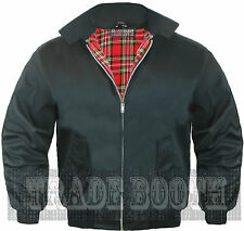 BRAND NEW MEN'S CLASSIC VINTAGE 1970'S BOMBER HARRINGTON TRENDY JACKET / COAT