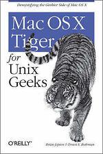(Good)-Mac OS X Tiger for Unix Geeks (Paperback)-Ernest E. Rothman,Brian Jepson-