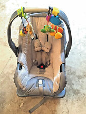 Prodigy Summer Infant Car Seat - Jet Set/Gray Cleaned Sanitized Great Condition!