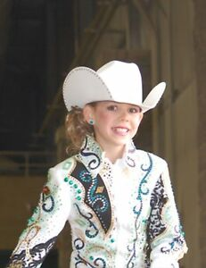 Youth showmanship/ western rail complete Show outfit
