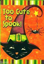 """Too Cute To Spook"" - Cat Halloween"
