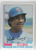 1982 Topps Baseball Chicago Cubs Team Set
