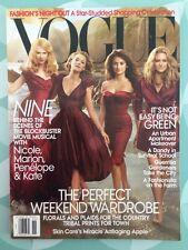 VOGUE US November 2009 Nine Kidman Cruz Cotillard Moss Mode Fashion Look