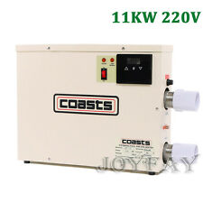 11KW Swimming Pool & SPA Hot Tub Electric Water Heater Thermostat 220V