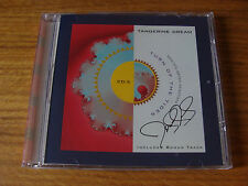 CD Single: Tangerine Dream : Turn Of the Tides : Limited Edition US Promo SIGNED