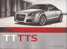 2011 11 Audi  TT TTS  original sales  brochure