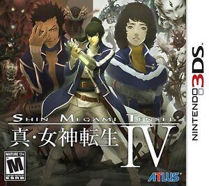 Shin Megami Tensei IV 4 [Nintendo 3DS Atlus Persona Japan Role-Playing JRPG] NEW