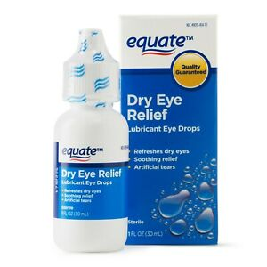 Equate Lubricant Eye Drops for Dry Eye Relief, 1 oz - Concern: Dry Eyes.+
