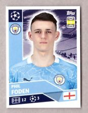 TOPPS CHAMPIONS LEAGUE 2020-21 2021 MANCHESTER CITY FIGURINA N.MCI14 PHIL FODEN