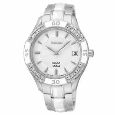 Seiko Stainless Steel Case Round Wristwatches