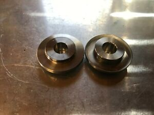 Yamaha rd350lc Sprocket side rear wheel spacer. Stainless steel