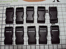 "10pcs. Plastic Side Release Buckles For Webbing 15mm Bags Straps Clips  ""B"""
