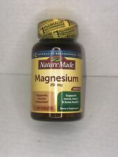 Nature Made - Magnesium 250 mg 200 Tablets Exp.2/2022+