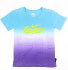 Nike 6.0 Little Girls Tie Dye V-Neck Top Marina Blue L/6 New
