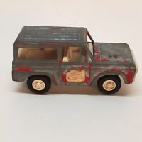 Vintage Tootsietoy Ford Bronco Fire Chief vehicle.