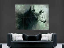 ANGRY EVIL WOLVES WOLF RED EYES SCARY BIG GIANT POSTER ART PRINT LARGE