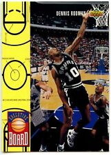 Dennis Rodman #421 San Antonio Spurs Upper Deck 1993-4 Basketball Card (C503)