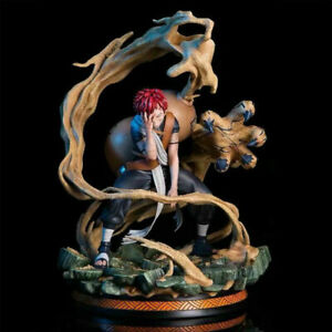 Naruto Gaara Action Figure GK Model Toy Statue 25CM Collection In Stock Gift