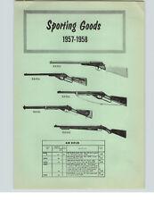 1957 PAPER AD BB Gun Air Rifles Daisy #95 Red Ryder #25 Pump Action Crosman