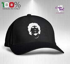 Cappello Berretto Hat Cappellino Houston 5 pannelli NERO - MARADONA D10s