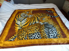 Grand foulard motif Fauves