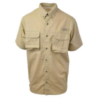 Red Head Brand Co. Khaki S/S Woven Performance Fishing Shirt (Retail $40)