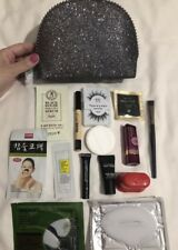 MAC Keepsakes Collection Cosmetic Bag LOADED with Samples~Black LOW GLOBAL SHIP