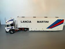 RALLY 1/43 OLD CARS IVECO ASSISTANCE SERVICE LANCIA MARTINI RALLYE CAMION