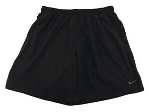 NIKE Men's Size 4XLT Black Shorts Swim Trunks Tie Waist Dri-Fit Lightweight 4XL