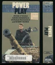 Media Home Ent Betamax NOT VHS Power Play 1978 Coup D'Etat Military Takeover