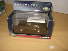 Vanguards/corgi  Land Rover Defender Van - green. VA09701