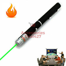 500Mile High Power 532nm 101 Green Laser Pointer Pen Visible Beam Light Lazer