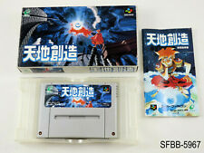 Complete Tenchi Souzou Terranigma Super Famicom Japanese Import Japan US Seller