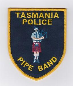 Tasmania Police Pipe Band Patch (social)