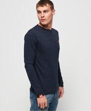 Superdry Mens Orange Label Vintage Embroidered Long Sleeve Top