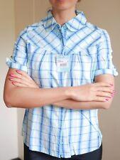 WOMEN'S ROXY ROYAL BLUE SHORT SLEEVE SHIRT BRAND NEW TOP SIZE M