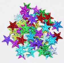 125pcs Sequins Star 20mm Mixed Applique Holiday costume Sewing Craft #8