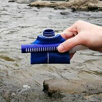 745 Blue Water Purifying Bottle 0.01 Membrane Filter STRAWS