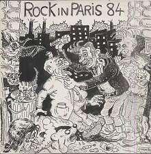 VARIOUS ROCK IN PARIS 84 French LP PRIVATE BAN 01