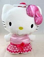 Sanrio - Hello Kitty Plush Backpack (Polka Dot Dress & Striped Bow) {SKN#804323}
